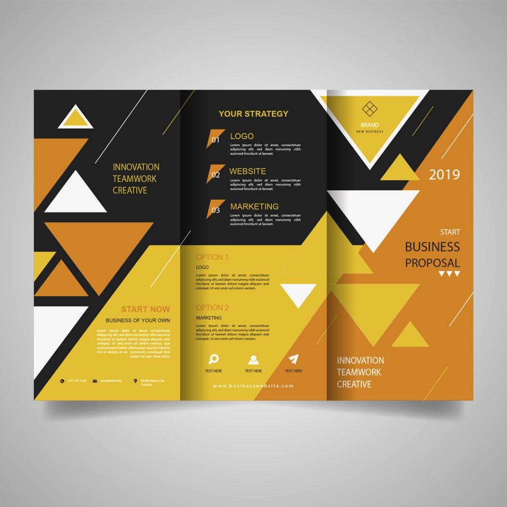 Fold Flyers Design and Printing