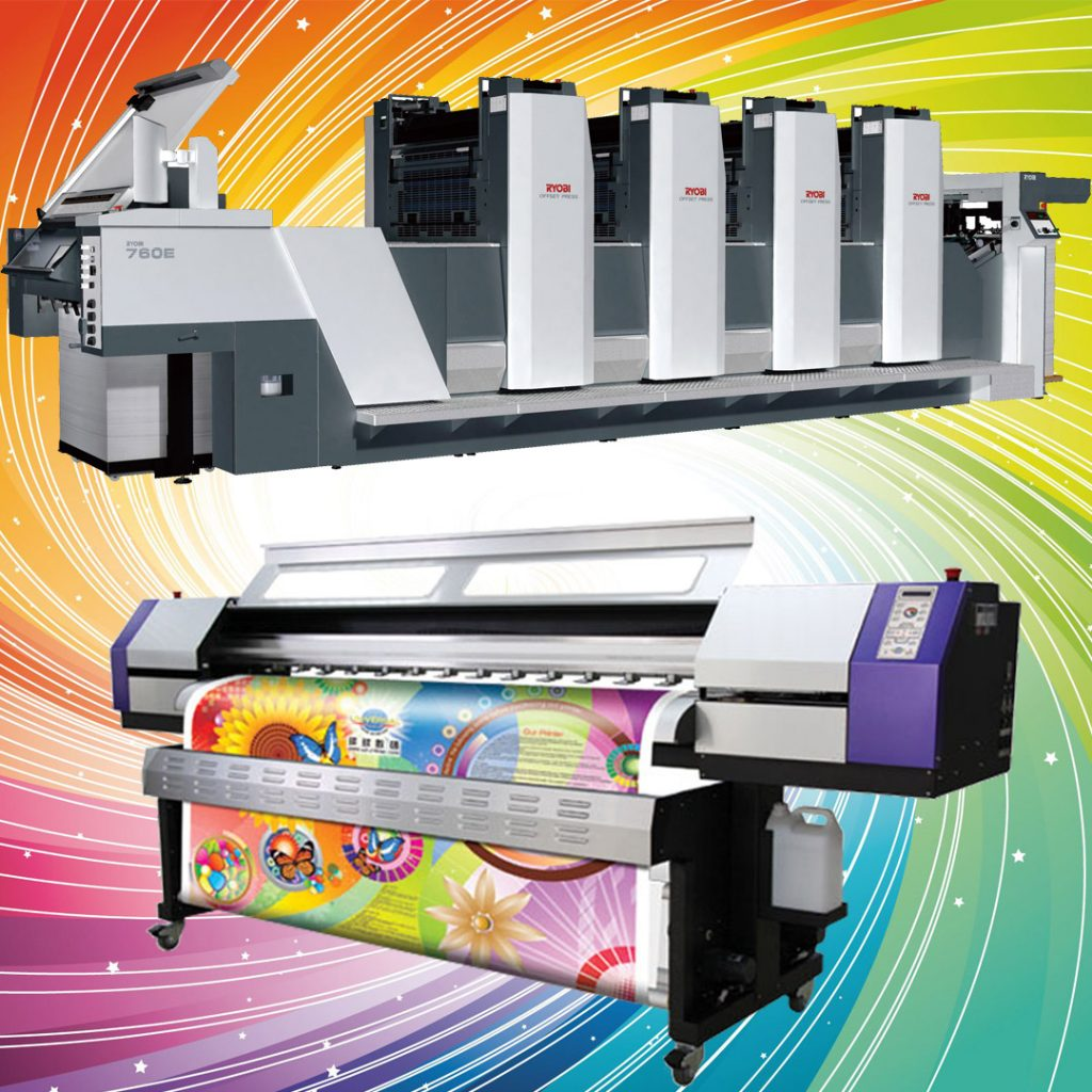 Digital and Offset Printing