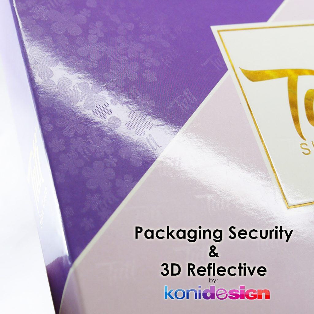 Packaging Security 3D Reflective 3