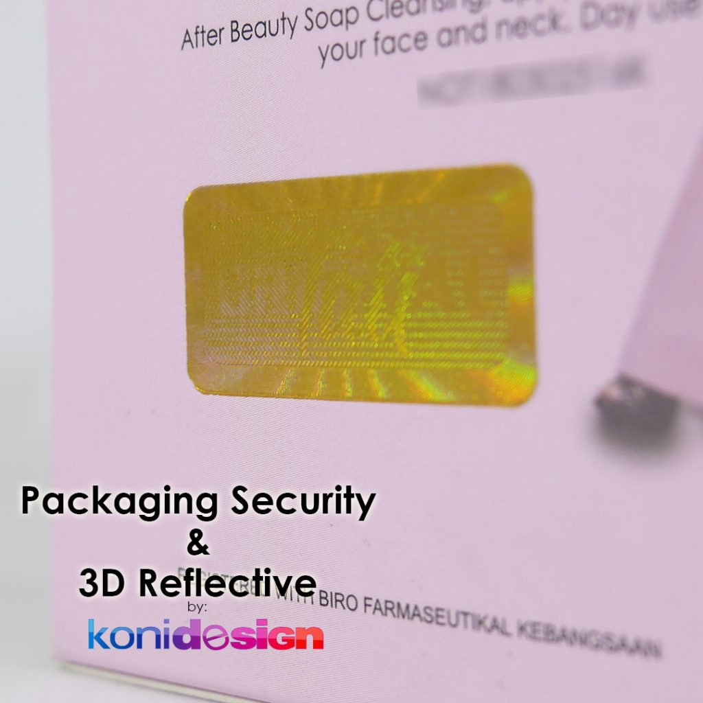 Packaging Security 3D Reflective 2