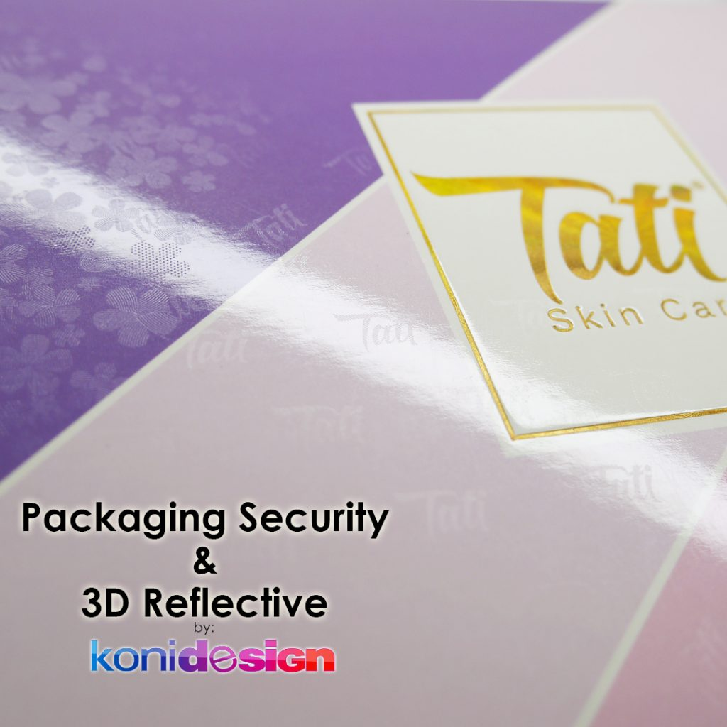 Packaging Security 3D Reflective